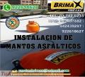 INSTALACION DE MANTO ASFALTICO, POR EXPERTOS DE BRIMAX.