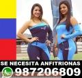 Contratamos de inmediato Venezolanas para Anfitrionas en Lima