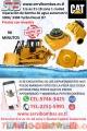 Reconstrucción  de  bomba de agua automotriz tractor caterpillar 3204 dozer D3,D4,D5