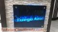 PLACAS DE VIDRIO DECORATIVAS  983447131 LETREROS