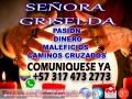 SEÑORA GRISELDA,AMOR ,SALUD Y SUERTE