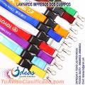 Cordones  o cintas para credenciales impresas logo