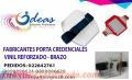 Porta credenciales, porta credenciales flexibles, porta credenciales rígidas, brazo