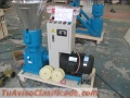 Maquina para pellets con madera Meelko 230 mm electrica 120-200 kg/h - MKFD230C