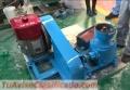 Peletizadora meelko 200mm 15 hp Diesel para alfalfas y pasturas 160-260kg