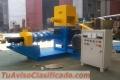 Extrusora para pellets flotantes para peces 200-250kg 22kW - MKED080B