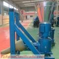 Peletizadora 300mm 55 hp Diesel para alfalfas y pasturas 500-600kg