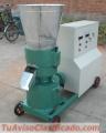 Maquina peletizadora Meelko para pellets con  madera 300 mm electrica 250-400 kg
