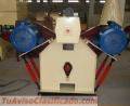 Prensa Meelko para pellets anular industrial capacidad 500-700kg madera, 1000-1500 kg