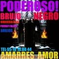 AMARRES BRUJO NEGRO!!