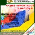 VENTA DE OCRE IMPORTADO 999602605 SOLO EN GRIMSA