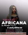 Trenzas africanas del largo que deseas