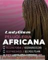 Espectacular peluquería africana