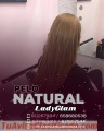 Extensiones con cabello humano
