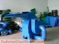 Molino triturador Meelko de biomasa a martillo eléctrico hasta 500 kg hora - MKH420B