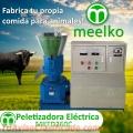 Maquina Meelko para pellets con madera 260 mm eléctrica 300 - 600 kg hora - MKFD260C