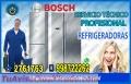 Expertos! Reparación  de Refrigeradoras Bosch 2761763 en la Molina