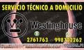 2761763«Westinghouse»Reparacion*Lavadoras -Secadoras*Barranco