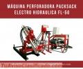 MÁQUINA PERFORADORA PACKSACK ELECTRO HIDRAULICA FL-50