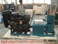 Peletizadora Meelko 300mm 55 hp Diesel para alfalfas y pasturas 500-600kg