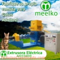 Extrusora Meelko para pellets alimentación perros y gatos 200-250kg/h 22kW - MKED080B