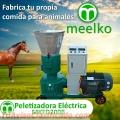 Peletizadora 200mm electrica 7.5kW para alfalfas y pasturas 150-200kg/h - MKFD200B
