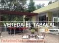 VENDO CASA CAMPESTRE EN VEREDA EL TABACAL.