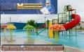DISEÑO Y CONSTRUCION DE PISCINAS TIPO PLAYA Y DE BALNEARIOS ACUATICOS EN BOLIVIA