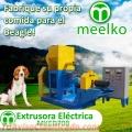 Extrusora Meelko para pellets alimentación perros y gatos 180-200kg/h 18.5kW - MKED070B