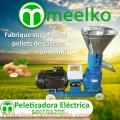 Maquina Meelko para pellets con madera 120 mm eléctrica 45-60 kg/h - MKFD120B