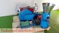 Máquina Meelko para pellets con madera 230 mm diésel 120-200 kg/h - MKFD230A