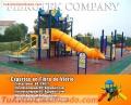 Modelos de parques infantiles en fibra de vidrio