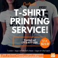 T-shirt printing business materials