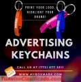 Printing of personalized keychains with logo