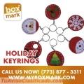 Holiday Key Rings