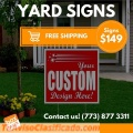 BOXMARK Yard signs