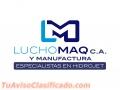 Luchomaq, C.A.  Especialistas en Hidrojet y Manufactura