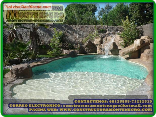Dise o y construcci n de piscinas playas piscinas tipo for Diseno y construccion de piscinas de hormigon