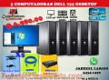 COMBO ECONOMICO DE 5 COMPUTADORAS MAS ACCESORIOS PARA CAFE INTERNET COLEGIOS O ACADEMIAS