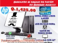 COMPUTADORA HP COMPLETA CON LA MEJOR TECNOLOGIA DDR3 REBAJADA