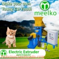 Meelko Extrusoras para hacer croquetas para alimentación de gatos 80kg/h - MKED050C