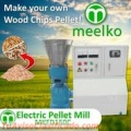 Maquina Meelko para pellets con madera 150 mm electrica 60-90 kg/h - MKFD150C.