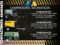 Compresor neumático en renta