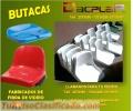 Fabrica de butacas de fibra de vidrio en Bolivia