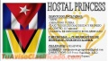 Hostal Princess en Georgetown. Guyana.
