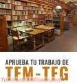 Tienes poco tiempo para elaborar tu TFM?
