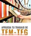 Tu TFM? Hazla con nosotros