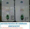 Servicio tecnico de calefones a gas en todas las marcas 0995537272