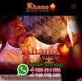 Mastro khano, especialista em amarração eterna.