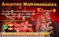 AMARRES MATRIMONIALES, CON AMULETO Y VUDU